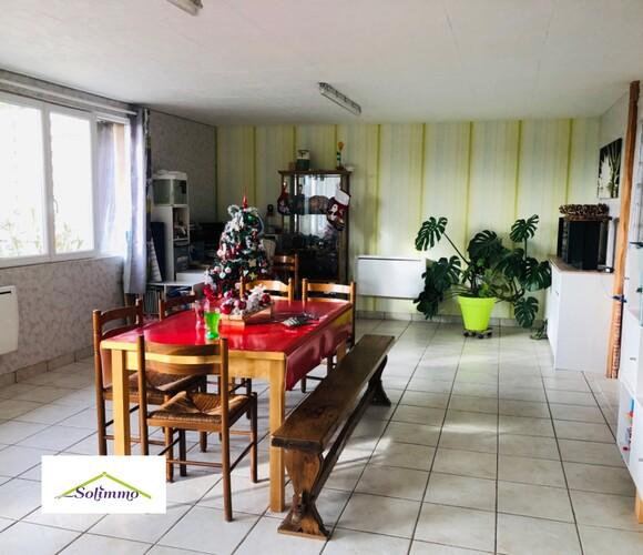 Vente Maison 4 pièces 100m² Saint-André-le-Gaz (38490) - photo
