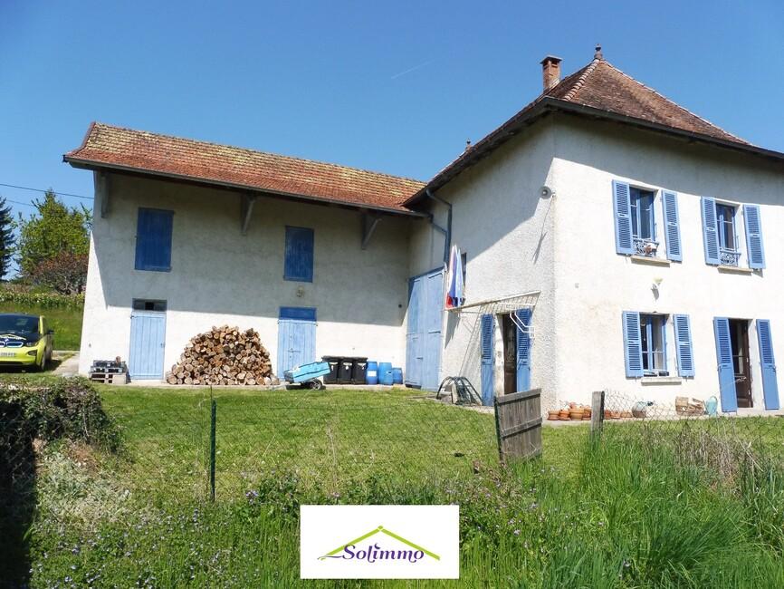 Vente Maison 4 pièces 90m² La Bâtie-Montgascon (38110) - photo