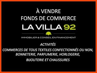 Vente Fonds de commerce 2 pièces 86m² Asnières-sur-Seine (92600) - Photo 1
