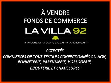 Vente Fonds de commerce 2 pièces 86m² Asnières-sur-Seine (92600) - photo