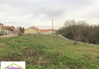 Vente Terrain 912m² Saint-Didier-de-la-Tour (38110) - photo