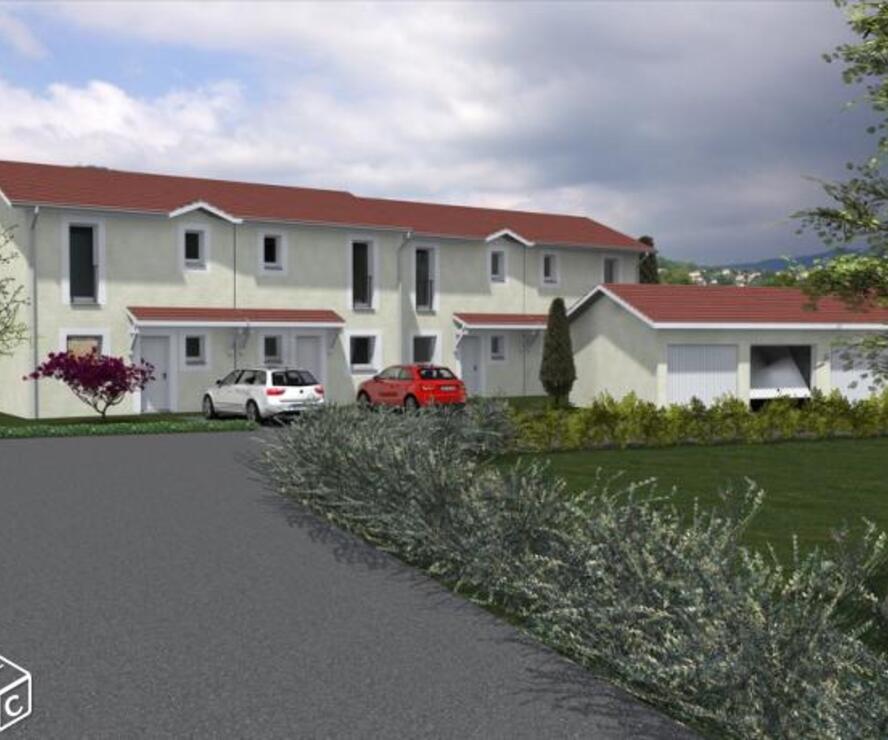 Vente Maison 4 pièces 70m² Voiron (38500) - photo