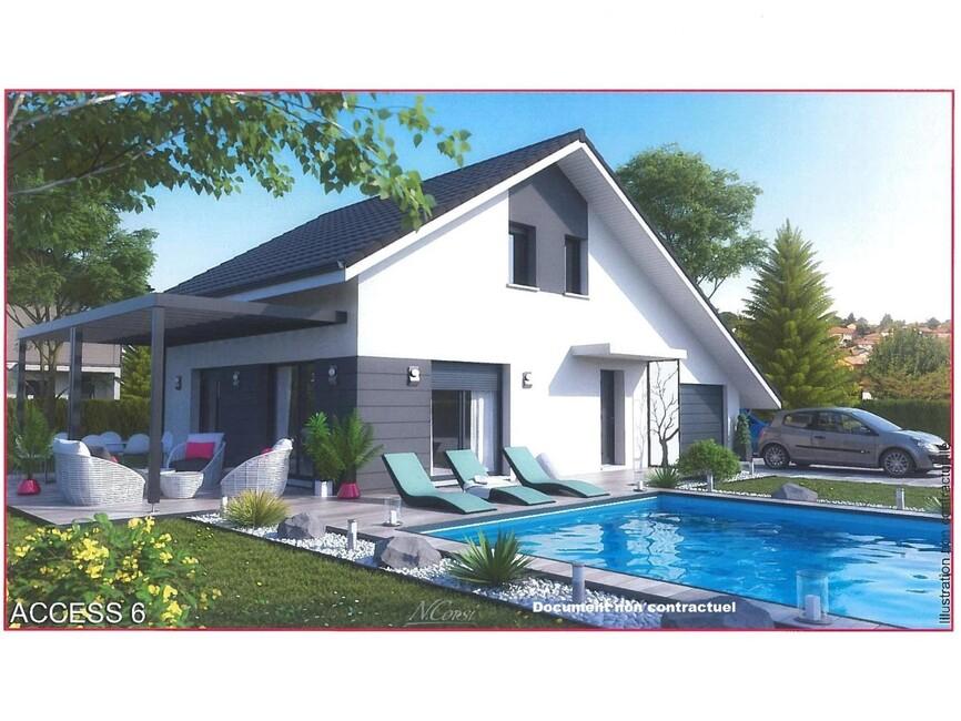 vente maison 5 pi ces thonon les bains 74200 165915. Black Bedroom Furniture Sets. Home Design Ideas