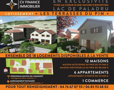 Vente Maison 4 pièces 82m² Le Pin (38730) - photo