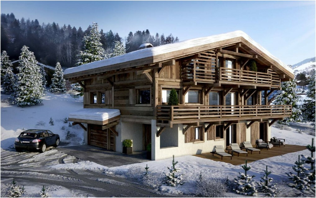 EXCEPTIONAL NEW CHALET MEGEVE Chalet in Megeve