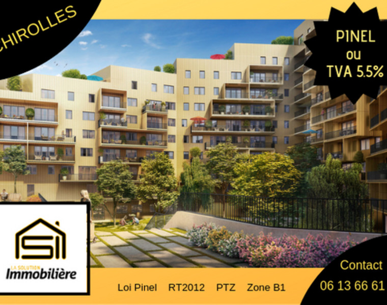 Vente Appartement 2 pièces 44m² Échirolles (38130) - photo