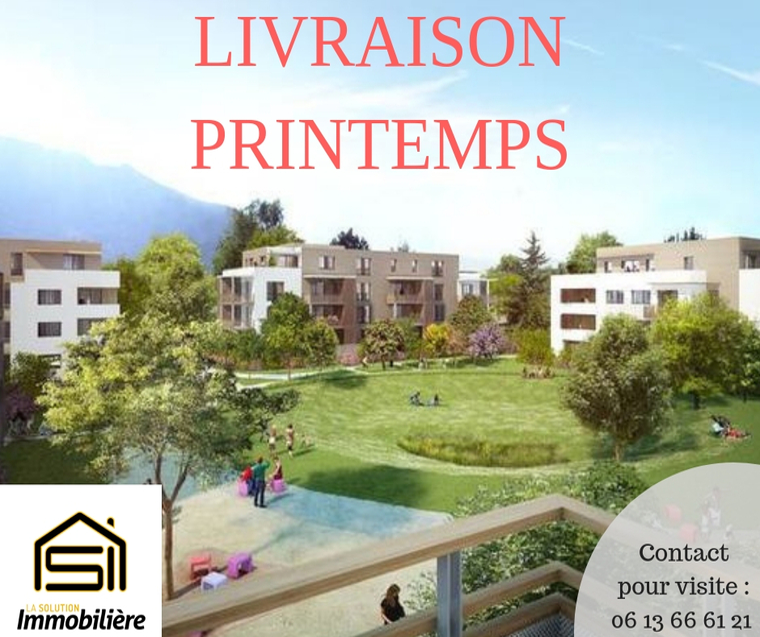 Vente Appartement 3 pièces 67m² Saint-Égrève (38120) - photo