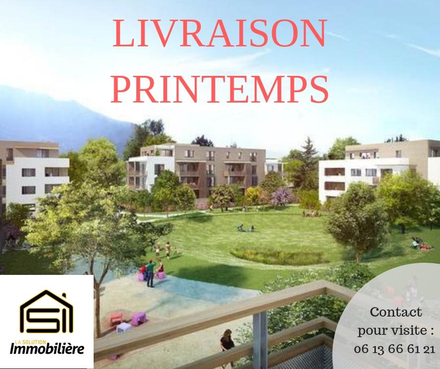 Vente Appartement 3 pièces 62m² Saint-Égrève (38120) - photo