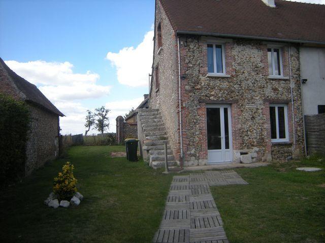 Location Maison 3 pièces 46m² Bretagnolles (27220) - photo