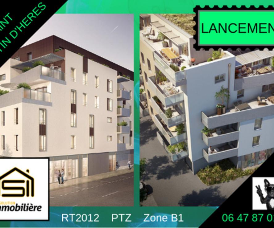 Vente Local commercial 74m² Saint-Martin-d'Hères (38400) - photo