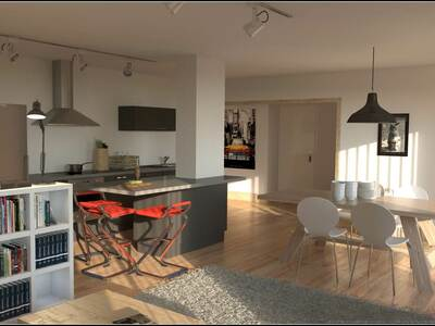 Sale Apartment 4 rooms 81m² MORILLON - photo