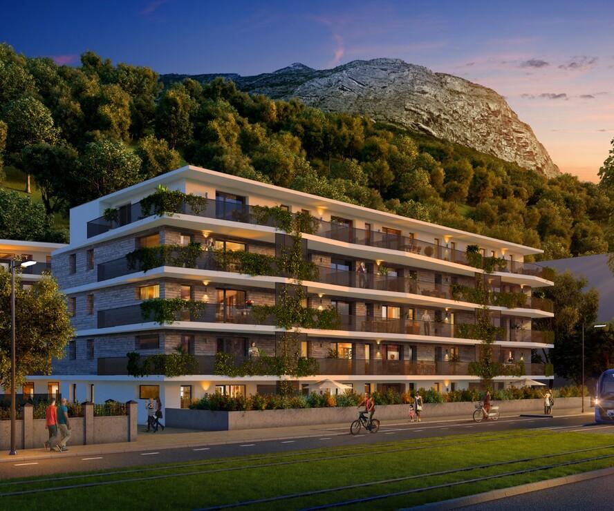 Vente Appartement 3 pièces 63m² Saint-Martin-le-Vinoux (38950) - photo