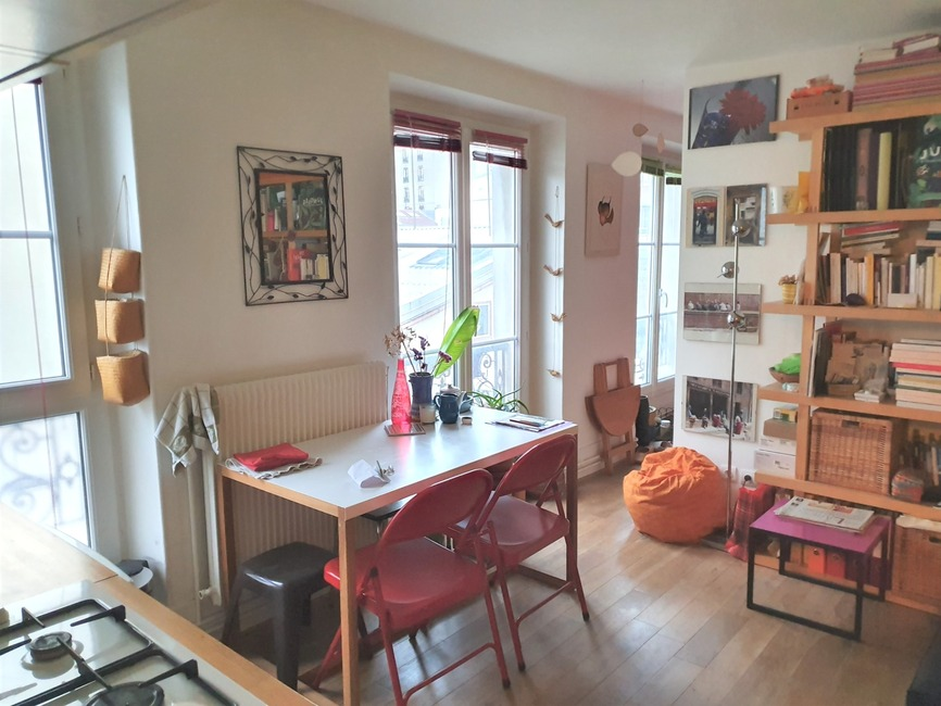 Vente Appartement 2 pièces 28m² Paris 19 (75019) - photo