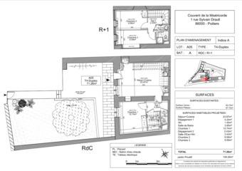 Vente Appartement 4 pièces 71m² Poitiers (86000)