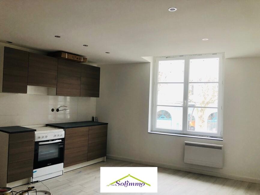 Location Appartement 3 pièces 65m² Les Abrets (38490) - photo