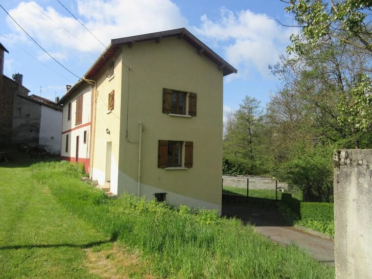 Vente Maison 4 pièces 60m² Bourg-de-Thizy (69240) - photo