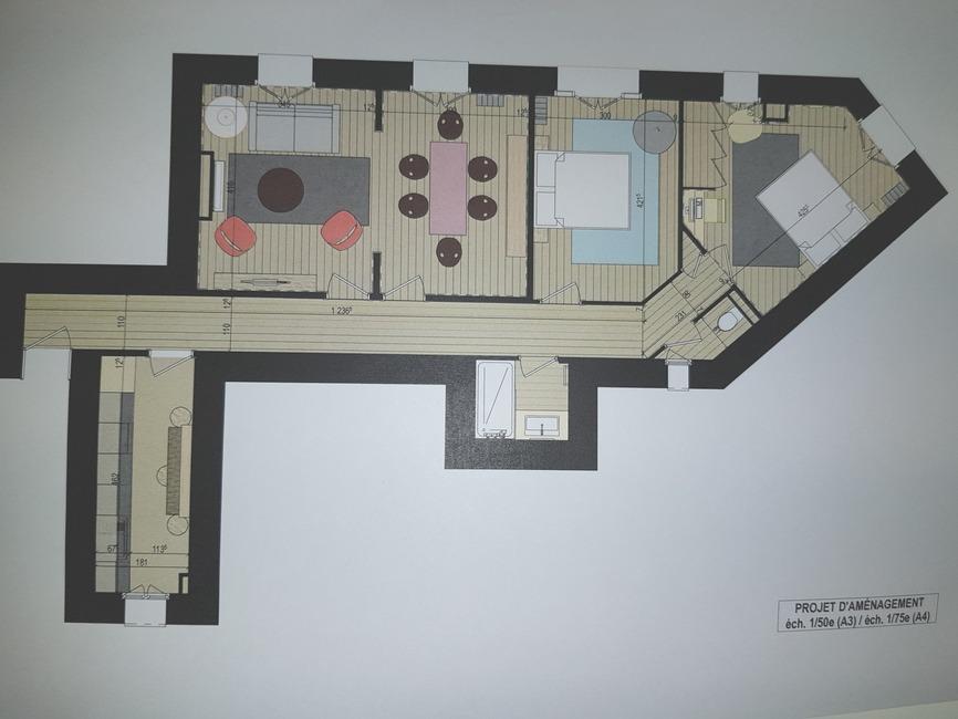 Sale Apartment 4 rooms 77m² Paris 19 (75019) - photo