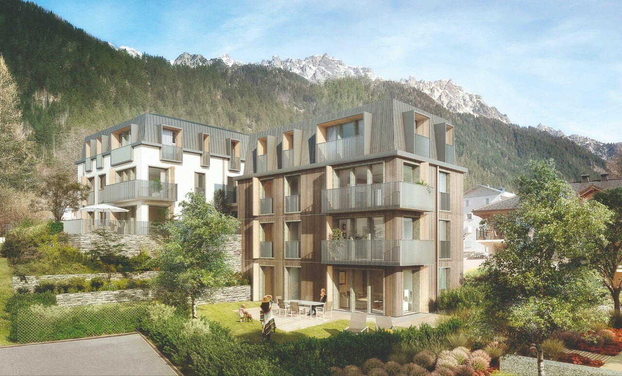 3 BEDROOM APARTMENT WITH BALCONY IN A NEW PROGRAMME Chalet in Chamonix