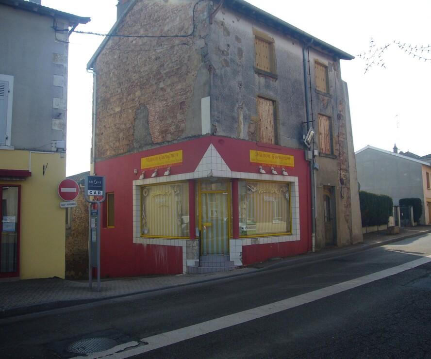 Vente Local commercial 140m² Saint-Jean-la-Bussière (69550) - photo