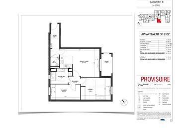 Vente Appartement 3 pièces 65m² Puteaux (92800) - photo
