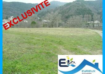Vente Terrain 1 005m² Saint-Fortunat-sur-Eyrieux (07360) - Photo 1