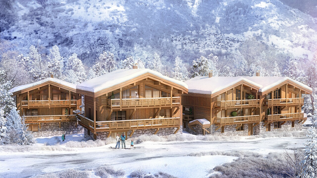 NEW CHALET WITH BEAUTIFUL VIEW Chalet in Courchevel