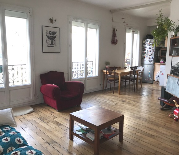 Vente Appartement 3 pièces 51m² Paris 10 (75010) - photo