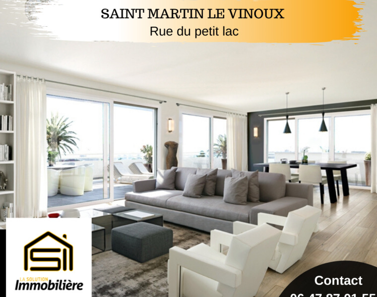 Vente Appartement 5 pièces 110m² Saint-Martin-le-Vinoux (38950) - photo