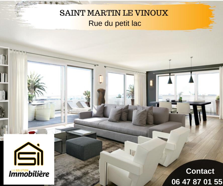 Sale Apartment 5 rooms 110m² Saint-Martin-le-Vinoux (38950) - photo