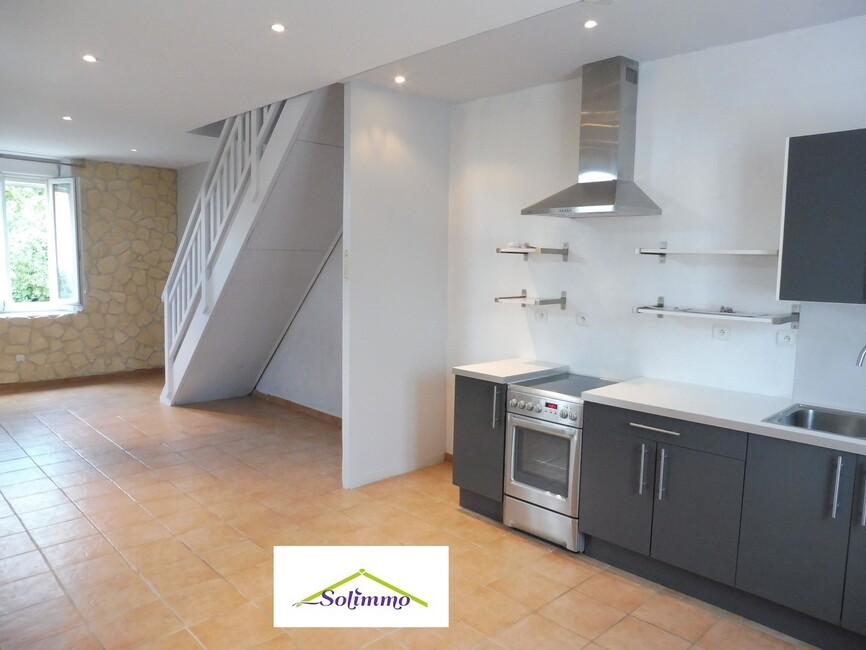 Vente Maison 4 pièces 69m² Saint-André-le-Gaz (38490) - photo