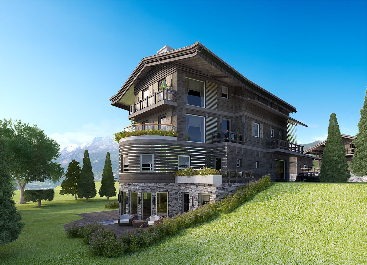 APARTMENT T4 CLOSE TO THE CENTER OF MEGEVE Chalet in Megeve