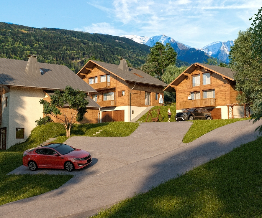 Vente Maison / chalet 5 pièces 108m² Saint-Gervais-les-Bains (74170) - photo
