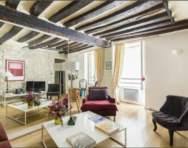 Vente Appartement 2 pièces 35m² Paris 06 (75006) - photo