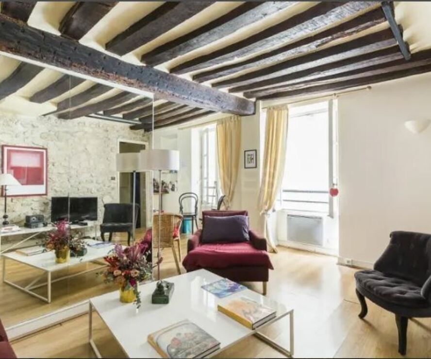 Vente Appartement 2 pièces 34m² Paris 06 (75006) - photo