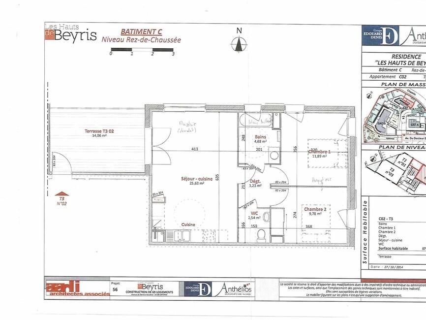 Location Appartement 3 pièces 59m² Bayonne (64100) - photo