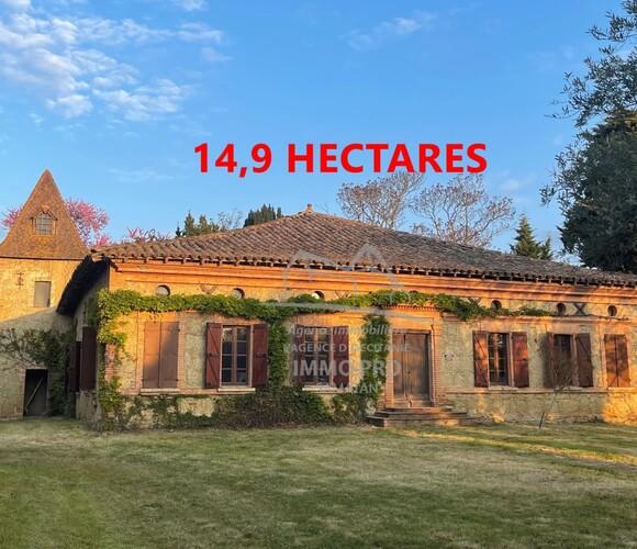 Vente Maison 7 pièces 300m² Samatan (32130) - photo