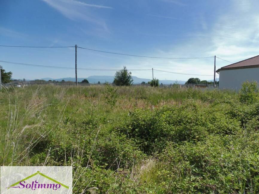 Vente Terrain 1 100m² Saint-André-le-Gaz (38490) - photo