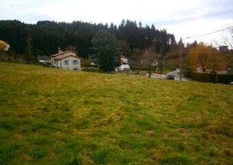 Vente Terrain 1 300m² Cours-la-Ville (69470) - Photo 1