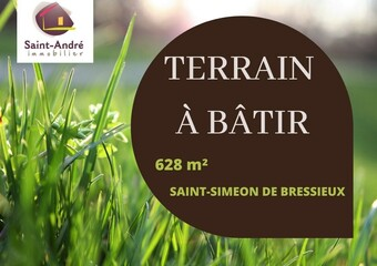 Vente Terrain 628m² Saint-Siméon-de-Bressieux (38870) - Photo 1