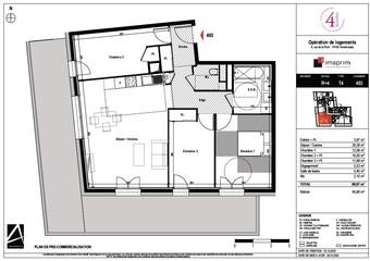 Vente Appartement 2 pièces 80m² Annemasse (74100) - Photo 1