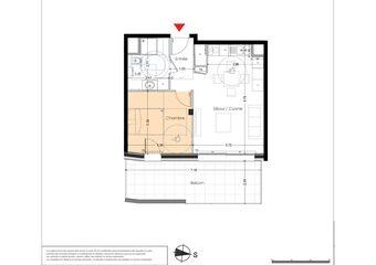 Vente Appartement 2 pièces 41m² Albertville (73200) - Photo 1
