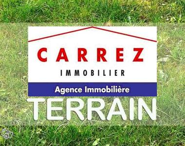 Vente Terrain 1 100m² Annois (02480) - photo