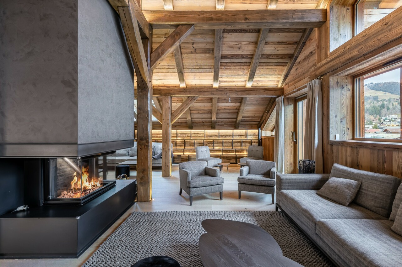 EXCEPTIONAL CHALET Accommodation in Megeve