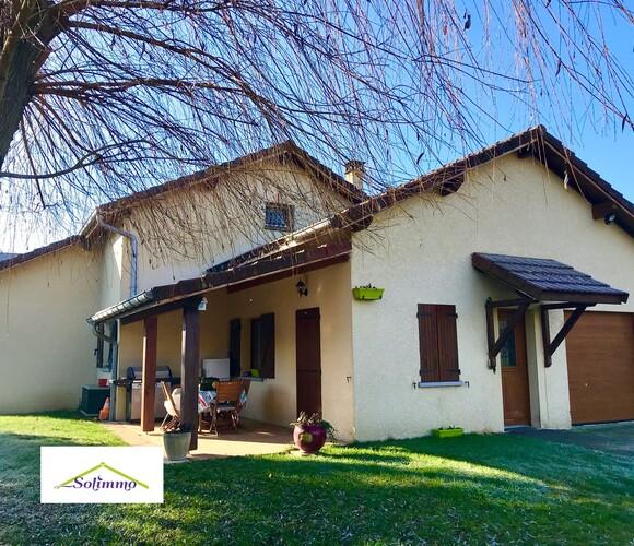 Vente Maison 5 pièces 126m² Les Abrets (38490) - photo