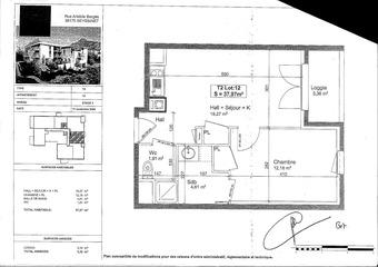 Renting Apartment 2 rooms 38m² Seyssinet-Pariset (38170) - photo 2