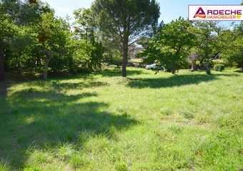 Vente Terrain 1 008m² Veyras (07000) - Photo 1