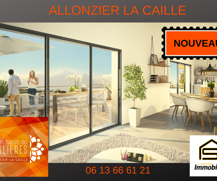 Vente Appartement 4 pièces 92m² Allonzier-la-Caille (74350) - photo
