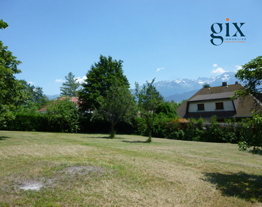 Vente Terrain 1 160m² Saint-Ismier (38330) - photo