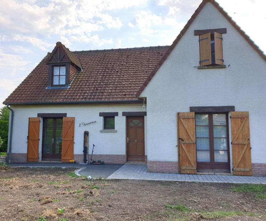 Vente Maison 5 pièces 128m² Aubin-Saint-Vaast (62140) - photo