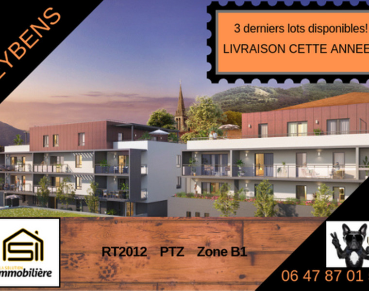 Vente Appartement 4 pièces 93m² Eybens (38320) - photo